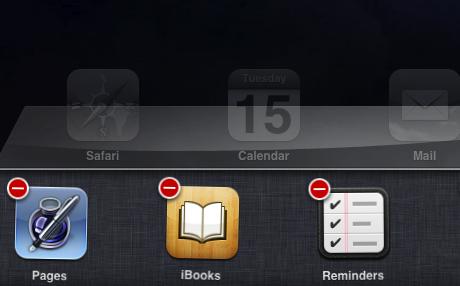 fast app switcher delete