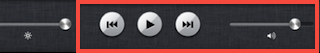 playback controls