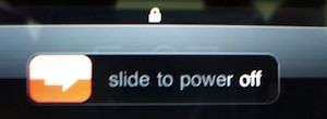 shut iPad off