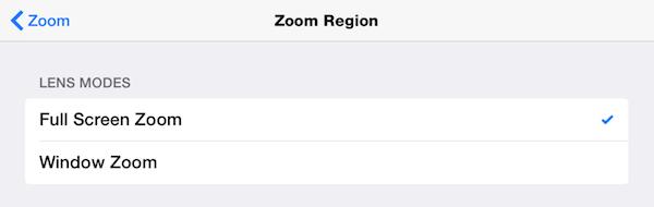 zoom setting full screen vs window